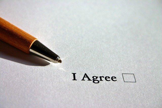 הסכמה לחוזה